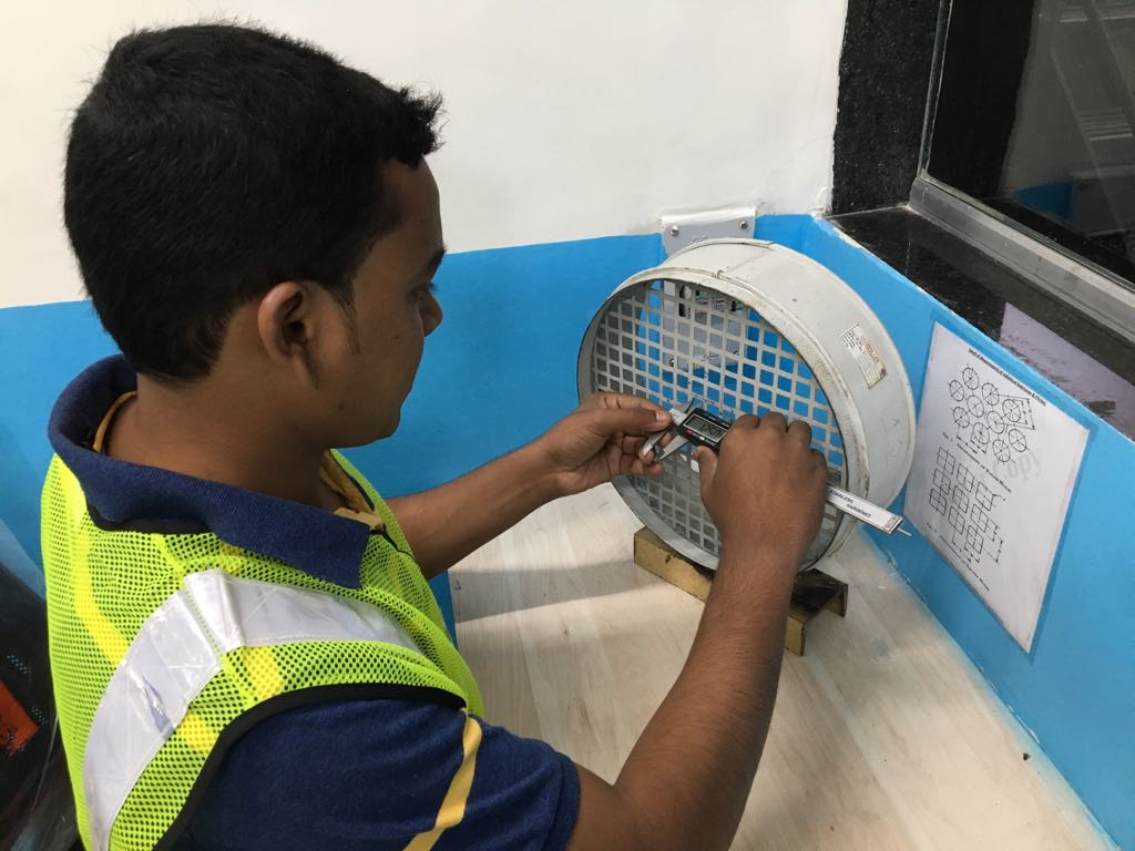 PERFORATED TEST SIEVE UP TO 125mm